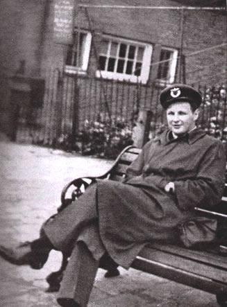 Lt. Per Hysing-Dahl in London