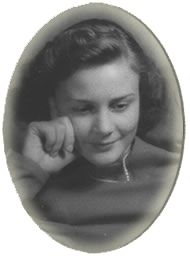Anne in Stockholm 1944