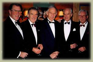 Arild, Claes, Knut J, Gunerius, Knut P