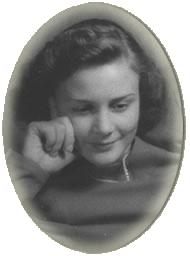 Anne in Stockholm 1944