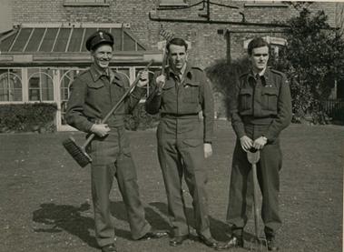 Knut Alming, Jon Brynildsen, Krinstian Fougner Putney 1944